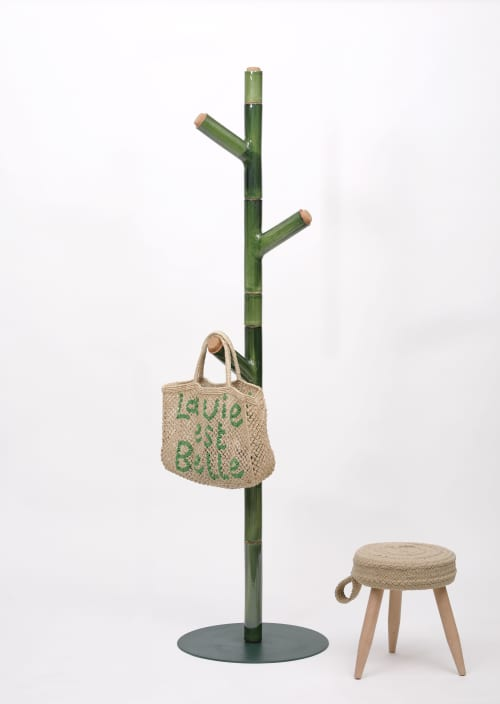 Furniture by Livingthings seen at Private Residence, Girona - Coat stand - Cadaqués