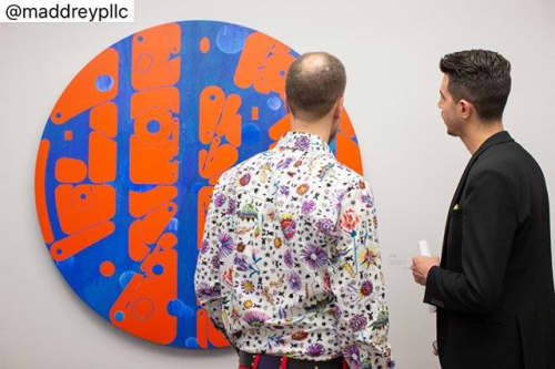 Paintings by Studio Lee Albert Hill at Maddrey PLLC, Dallas - Love Removal Machine - Round 1