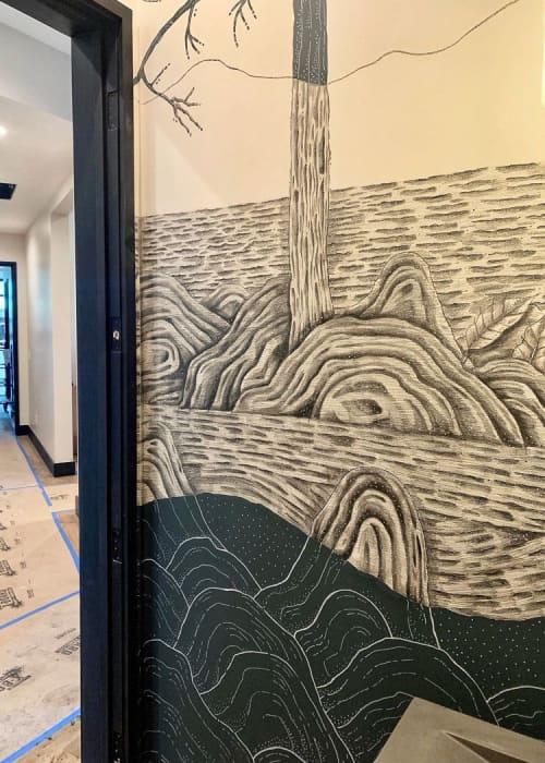 Mural   Murals by Joset Medina   Martis Camp in Truckee