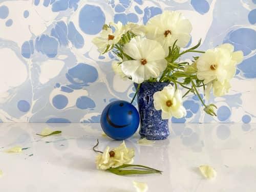 Marmorizatta Baby Blue Wallpaper   Wallpaper by Stevie Howell