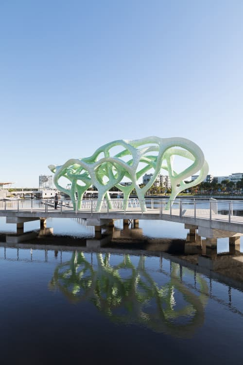 Public Sculptures by MARC FORNES / THEVERYMANY seen at Tampa, Tampa - Form of Wander