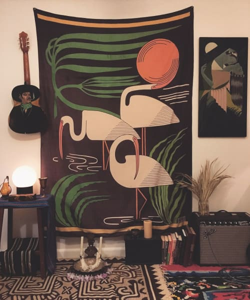Art & Wall Decor by Mike Willcox seen at Private Residence, Albany - Ibis Tapestry