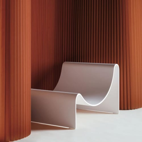 Knockabout Lounge Chair | Benches & Ottomans by Asa Pingree | Luxe Magazine in Mandeville