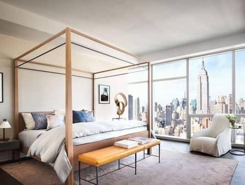 Tom Brady & Gisele Bündchen Bedroom textiles   Furniture by Margaret Juul