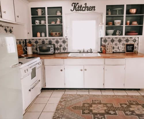 Tiles by BleUcoin seen at Daughters and Things, Windsor Locks - Kitchen Tiles