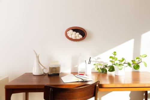 Adobe | Wall Hangings by Keyaiira | leather + fiber