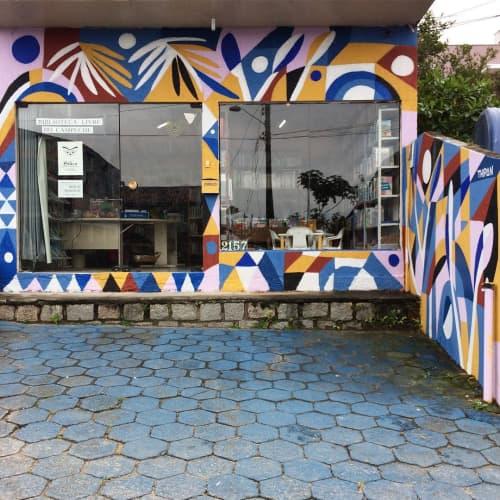 Murals by Thiago Thipan at Bilica, Campeche - Bilica Mural