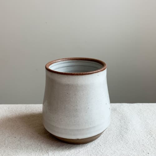 Cup in Linen | Cups by Keyes Pottery
