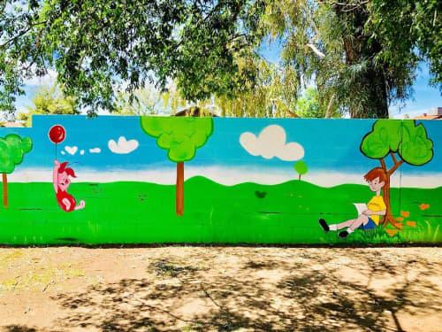 Cartoon Murals | Murals by Shaggy | Bright Beginnings Preschool & Childcare in Peoria