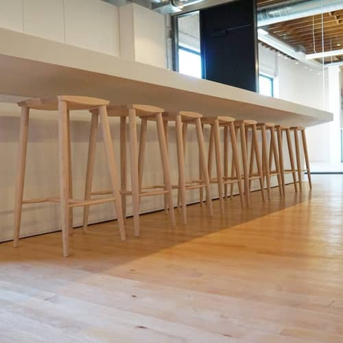 Palmerston Stools   Chairs by Coolican & Company   Mongrel Media in Toronto