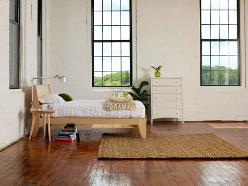 Beds & Accessories by Chilton Furniture Co. seen at Creator's Studio, Portland - Mysa Bed