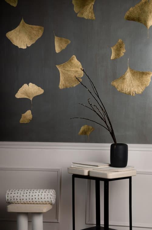 Ginkgo Wallpaper, Aura Collection   Wallpaper by Vilenica Studio