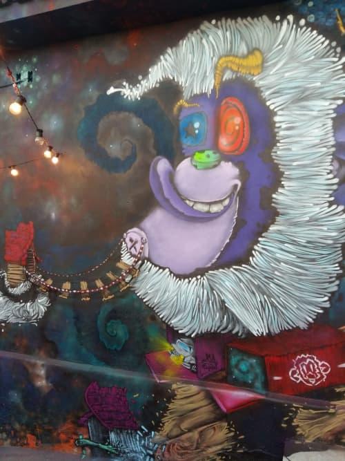 Art & Wall Decor by Léo Araújo seen at Private Residence, Santo André - A Invasão