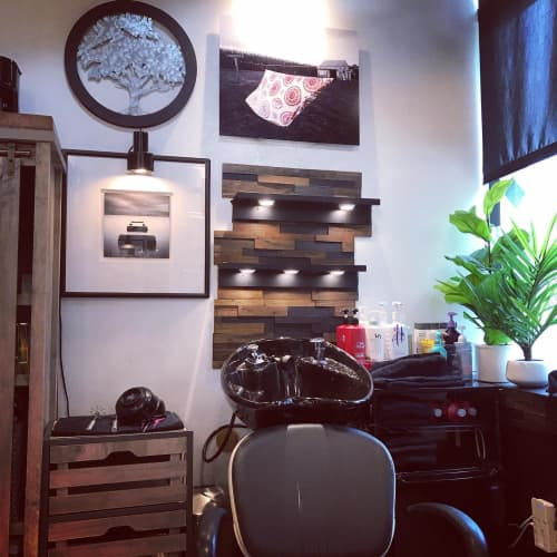 Photography by Steiner Studios Art seen at Hair Salon, Indianapolis - Indiana Landscape