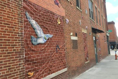 Art & Wall Decor by Eric Rausch at Short North Alliance, Columbus - The Messenger Wall