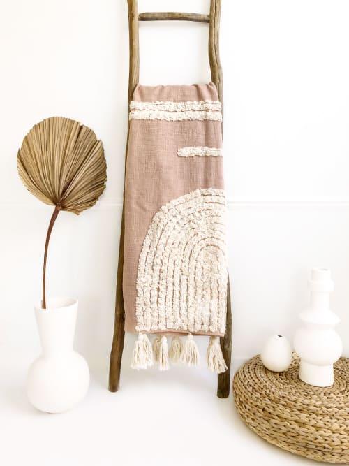 Laguna Handwoven Throw Blanket | Linens & Bedding by Coastal Boho Studio