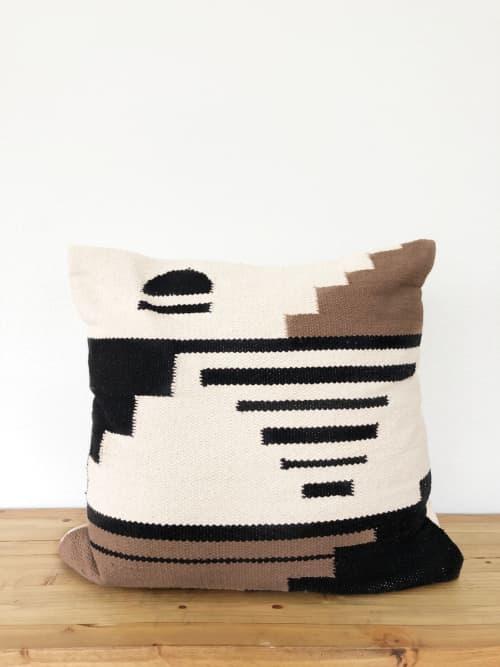 Navarre Handwoven Pillow Cover - Sunset   Pillows by Coastal Boho Studio