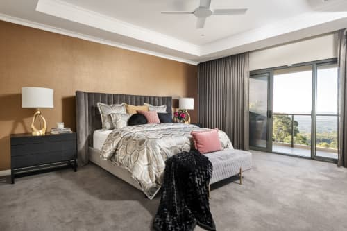 Beds & Accessories   Beds & Accessories by Darcy & Duke   Private Residence, Lesmurdie in Lesmurdie