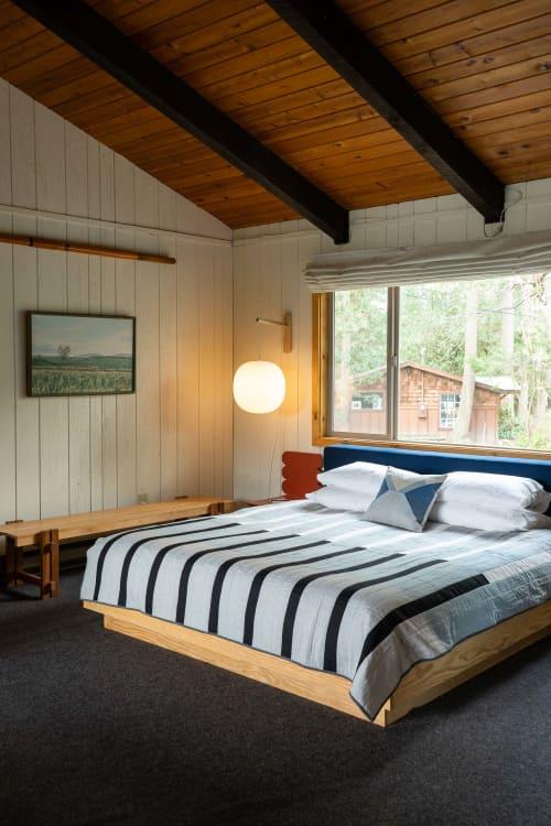 Rialto Quilt | Linens & Bedding by Vacilando Studios | Captain Whidbey in Coupeville