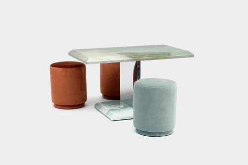 Tables by ARTLESS seen at 7970 Melrose Ave, Los Angeles - Gabriela Artigas 2020 Table