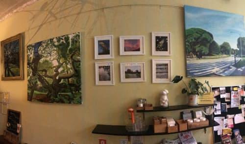 Paintings by Noel Hefele seen at The Chameleon BK, Brooklyn - Paintings
