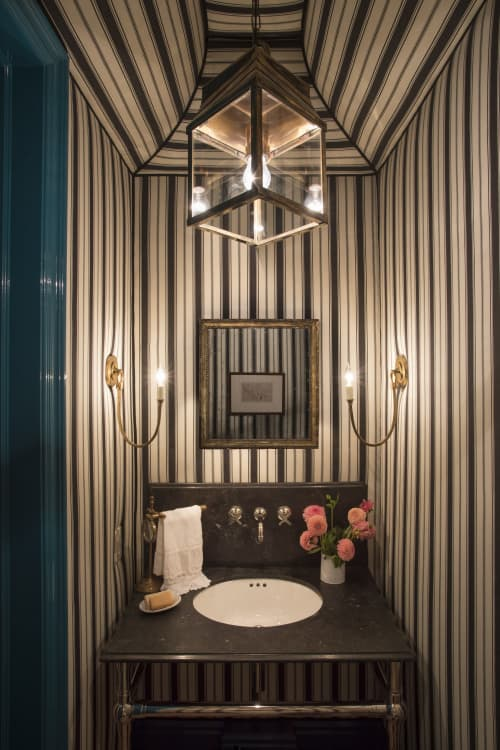 Sconces by Circa Lighting seen at Private Residence, Newport Beach, Newport - Sconces