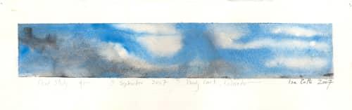 Paintings by ISA CATTO STUDIO - Cloud Study III: 4pm September Woody Creek