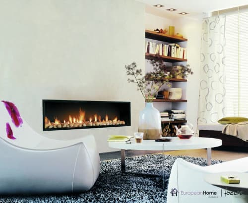 Fireplaces by European Home seen at Private Residence, Middleton - Neofocus 1500 & 1800
