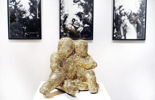 Sculptures by Emma Vidal at Vanities gallery, Paris - Fratrem