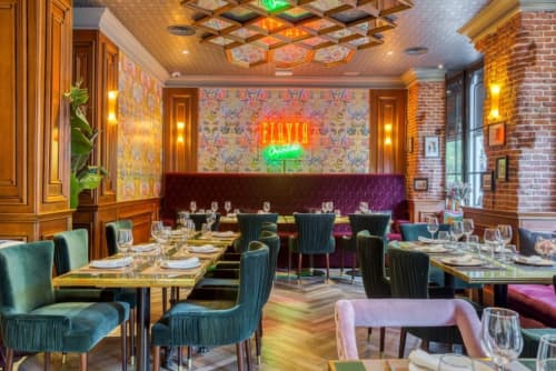 Flavia's Restaurant | Interior Design by ALGA by Paulo Antunes | Flavia Madrid in Madrid