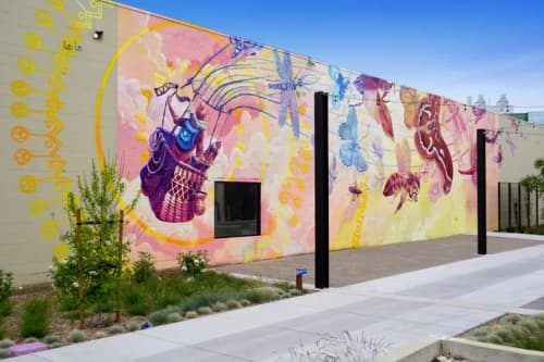 Street Murals by Joey Rose - ASCEND