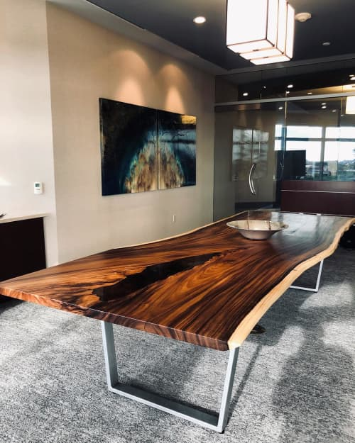Live Edge Conference Table | Tables by Live Edge Lust | Stifel in Scottsdale