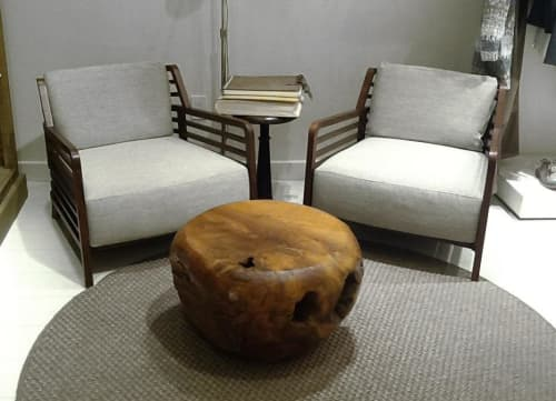Teak Root Ball Side Table | Tables by From the Source