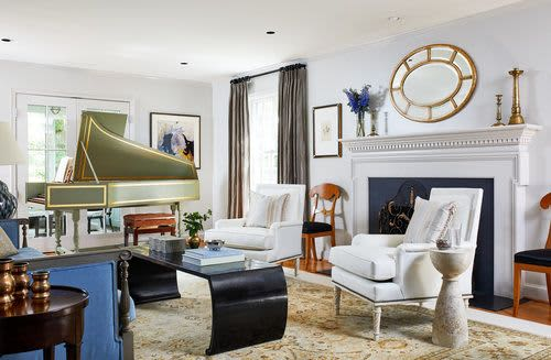 Interior Design by Zoe Feldman Design seen at Private Residence - Forest Hills Residence Interior Design