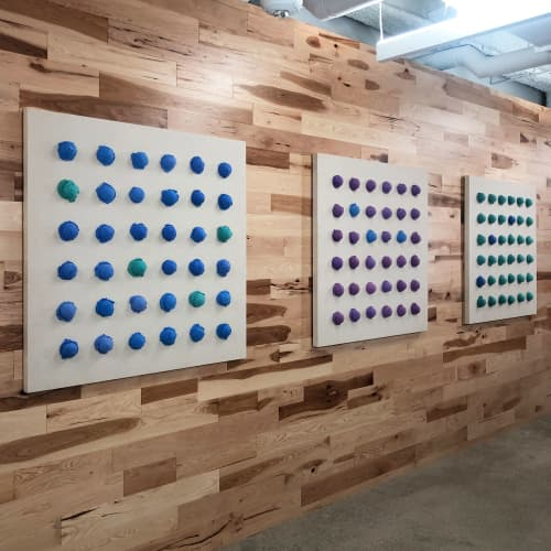 """Paintings by ANTLRE - Hannah Sitzer seen at Google RWC SEA6, Redwood City - """"Lactose Intollerant"""""""