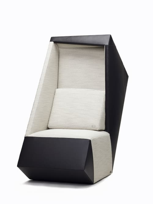 Chairs by van der Swan seen at Private Residence, Los Angeles - Out of the box Chair