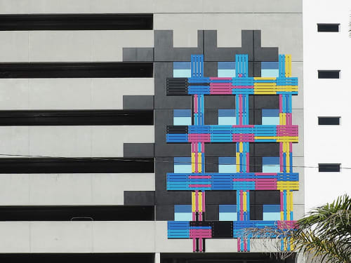 Art & Wall Decor by Elena Manferdini at Hermitage Apartment Homes, Saint Petersburg - Blank Facades
