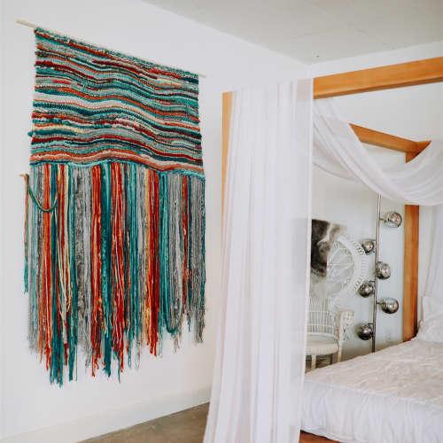 Macrame Wall Hanging by TexturizeYourEyes by Amber Kokenge - Custom Macrame