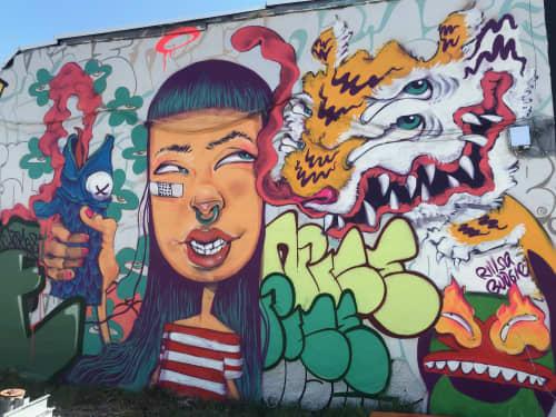 Denver Love   Street Murals by BoogieREZ