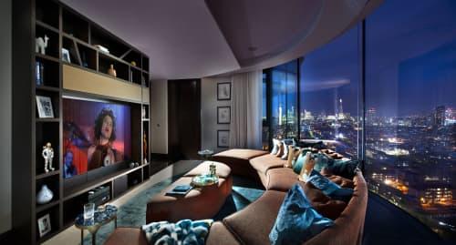 Corniche Penthouse   Interior Design by TG Studio