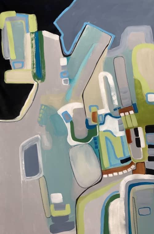 Beach Town 1 | Paintings by Darlene Watson Fine Artist