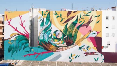 Wall Mural | Murals by Julieta XLF | Torrent in Torrent