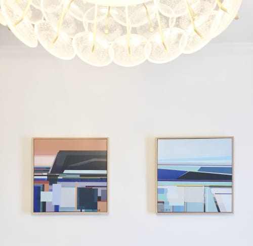 """""""Complexity Painting"""" and """"Quiet Reflection Painting"""" 