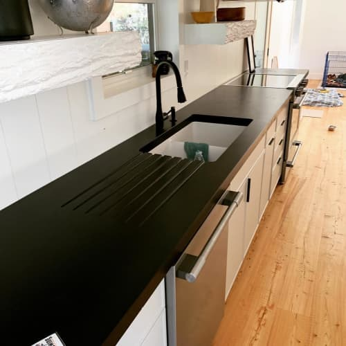 Concrete Countertops   Furniture by Woven 3 Design