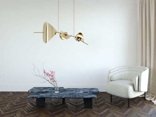Chandeliers by Ovature Studios seen at Private Residence, New York - Bonnie Chandelier Config. 2