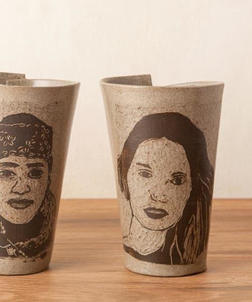 Coffee & Tea Cup Ceramic Handmade Mug | Cups by ShellyClayspot