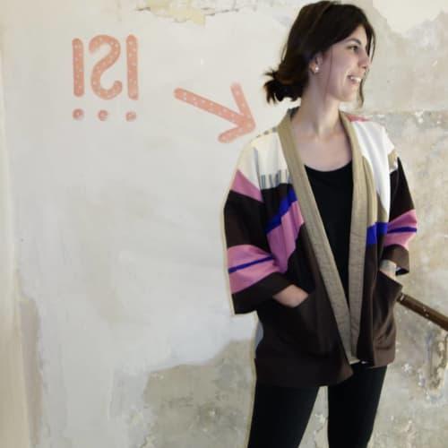 colourful patchwork jacket   Apparel & Accessories by DaWitt   Daniela Witt Studio in Leipzig