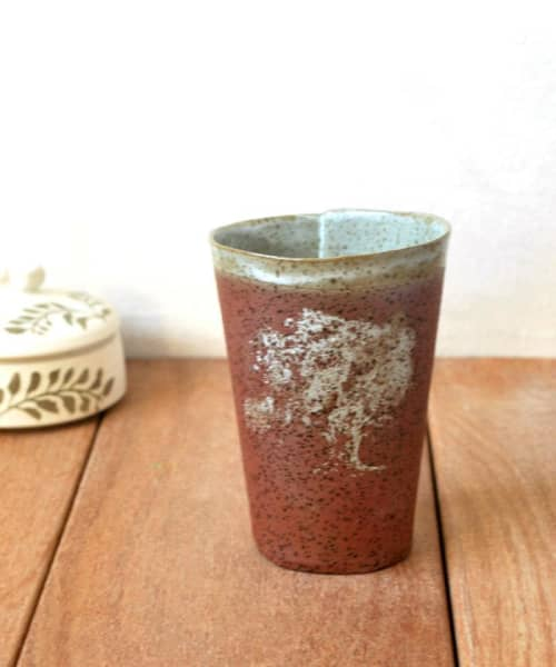 Ceramic Coffee Tree Cup | Cups by ShellyClayspot