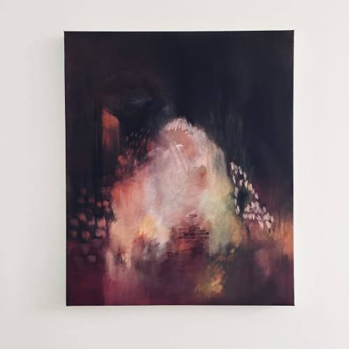 Paintings by Margaret Brown at The Red Arrow Gallery, Nashville - Closer # 1