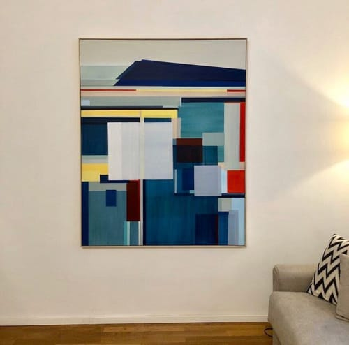 """""""Coastal Edge Painting"""" 